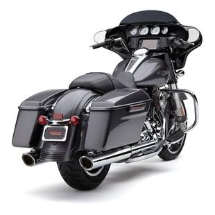 Cobra 909 Slip-On Mufflers For Harley