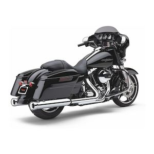 "Cobra 4"" NH Slip-On Mufflers For Harley Touring"