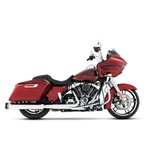 "Rinehart 4 1/2"" Slip-On Mufflers For Harley Touring"