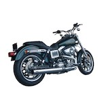 """Firebrand Exhaust 4"""" Loose Cannon Slip-On Muffler For Harley"""