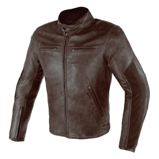 Dainese Stripes D1 Leather Motorcycle Jacket