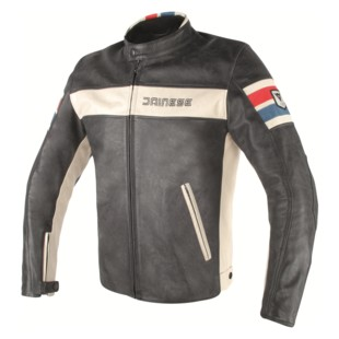Dainese HF D1 Perforated Leather Motorcycle Jacket