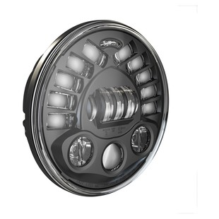 "J.W. Speaker 8791 LED 7"" Headlight With Pedestal Mount For Harley"