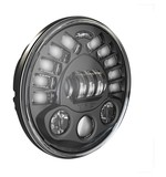 "J.W. Speaker 8791 LED 7"" Headlight With Pedestal Mount For Harley"