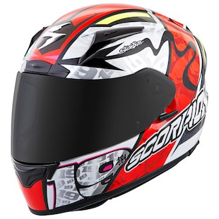 Scorpion EXO-R2000 Bautista Helmet Neon Red / 2XL [Blemished - Very Good]
