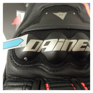 Dainese Race Pro In Gloves Black/Fluo Red/Blue / 2XL [Blemished - Very Good]