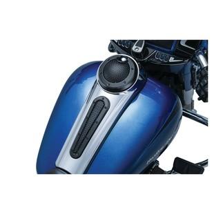 Kuryakyn Mesh Dash Insert For Harley Touring