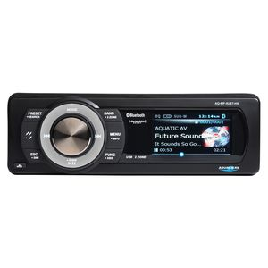Aquatic AV Bluetooth USB Stereo Sirius XM Satellite Radio For Harley Touring 1998-2013