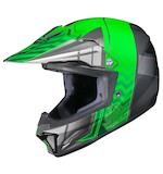 HJC Youth CL-XY 2 Cross-Up Helmet Green/Silver/Black / LG [Open Box]