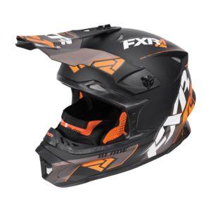 FXR Blade Vertical Helmet Black/Orange/Charcoal / SM [Blemished - Very Good]