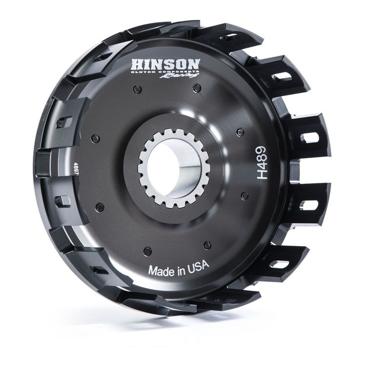 Hinson Billetproof Clutch Basket Honda CR250R / CRF450R 1992-2012