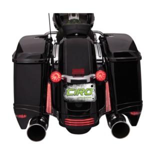 Ciro LED Filler Panel Lights For Harley Touring