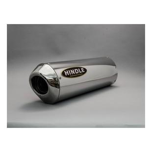 Hindle Euro Oval Exhaust System Kawasaki Ninja 650 2012-2016