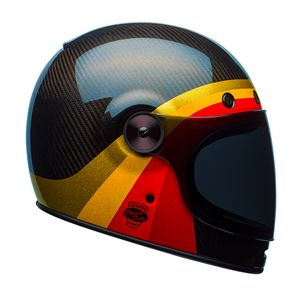 Bell Bullitt Carbon Chemical Candy Helmet