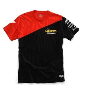 100% Team Geico Honda Bias T-Shirt