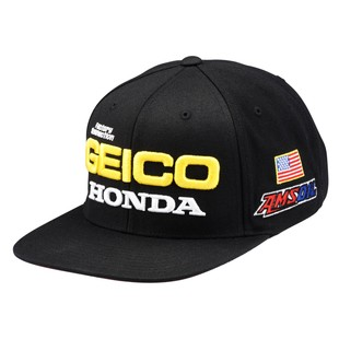 100% Team Geico Honda Podium Snapback Hat