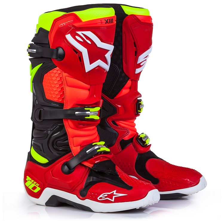 Red/Black/Fluo Yellow
