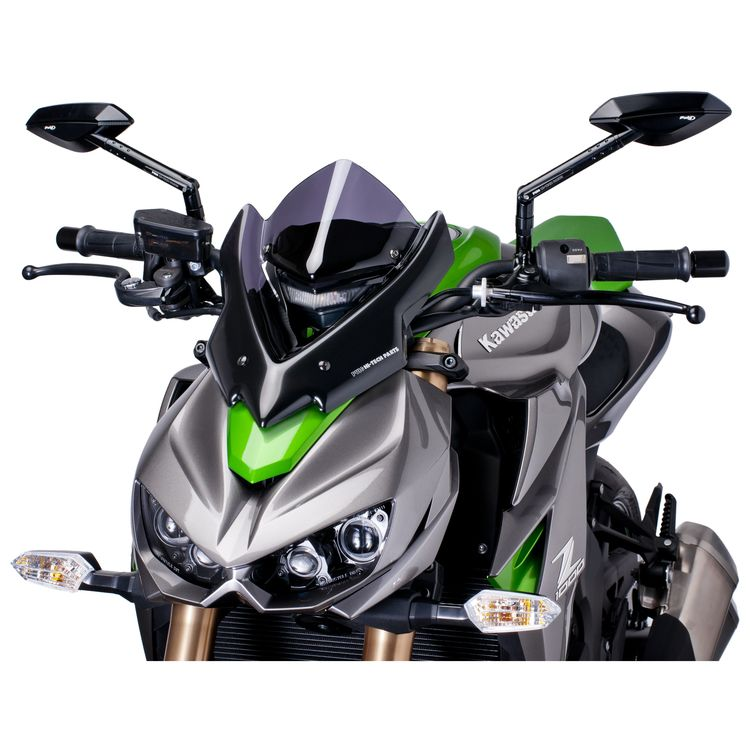 Puig Naked New Generation Windscreen Kawasaki Z1000 2014-2016 Clear / Sport [Previously Installed]
