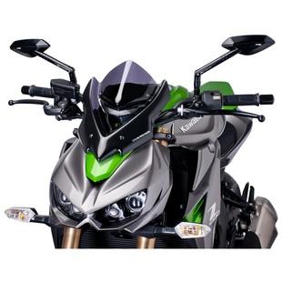 Puig Naked New Generation Windscreen Kawasaki Z1000 2014-2016 Clear / Sport [Previously Installed]