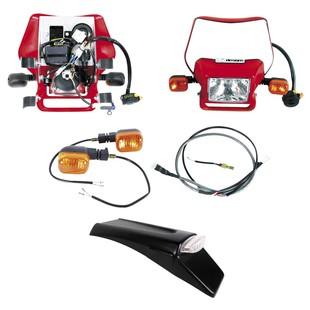 Baja Designs Dual Sport Electric Start Kit Honda CRF450X 2008-2016