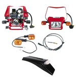 Baja Designs Dual Sport Electric Start Kit Honda CRF450X 2008-2016