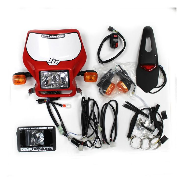Baja Designs MX Dual Sport Kit Honda CRF450R 2009