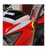 New Rage Cycles LED Front Turn Signals Kawasaki Z125 Pro 2017