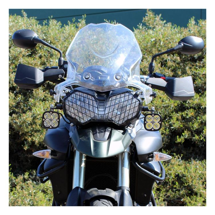 Black & Baja Designs Squadron Pro LED Lighting Kit Triumph Tiger 800 XC ...