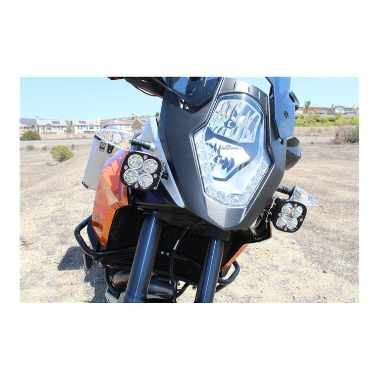 Black  sc 1 st  RevZilla & Baja Designs Squadron Pro LED Lighting Kit KTM 1190 / 1290 Adventure ...