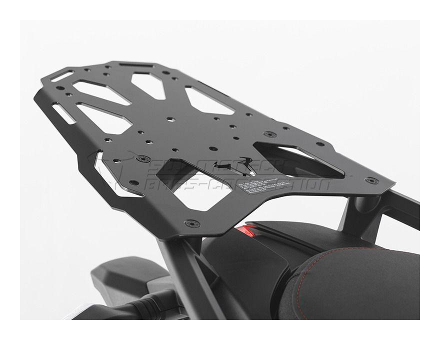 sw motech steel rack top case rack ducati multistrada 1200. Black Bedroom Furniture Sets. Home Design Ideas
