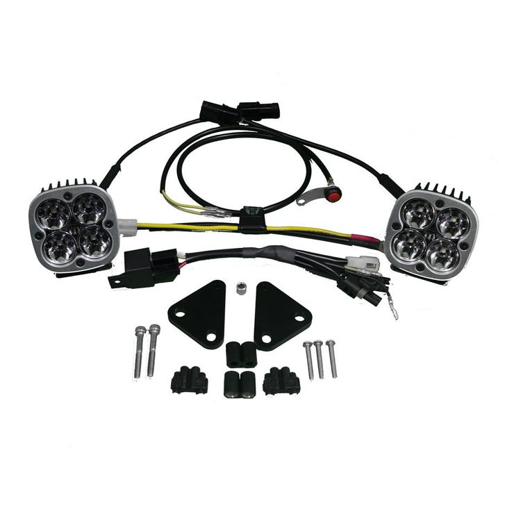 Baja Designs Squadron Sport LED Lighting Kit BMW F800GS 2008-2012