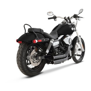 Rinehart Cross Backs Exhaust For Harley Dyna 2006-2017