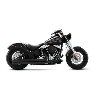 Rinehart 2-Into-2 Churchill Exhaust For Harley Softail 1986-2017