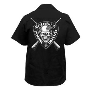 Lethal Threat Zombie Defense Shirt