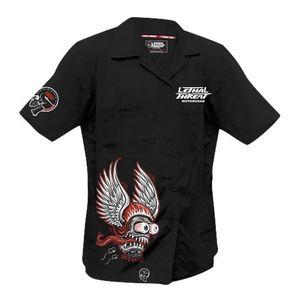 Lethal Threat Winged Helmet Monster Shirt