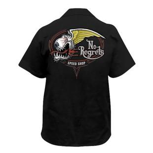 Lethal Threat No Regrets Speed Shop Shirt
