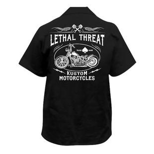 Lethal Threat Kustom Motorcycles Shirt