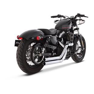 Rinehart Cross Backs Exhaust For Harley Sportster 2004-2013