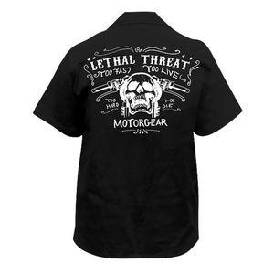 Lethal Threat Skull Handlebars Shirt