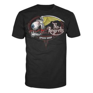 Lethal Threat No Regrets Speed Shop T-Shirt