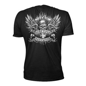 Lethal Threat Winged Pipes T-Shirt
