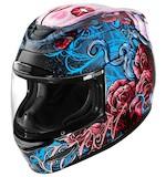 Icon Airmada Sugar Helmet Red/Blue/Black / MD [Blemished - Very Good]
