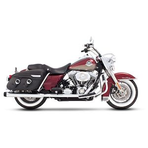"Rinehart 4"" Classic Duals Exhaust For Harley Touring 2009-2016"