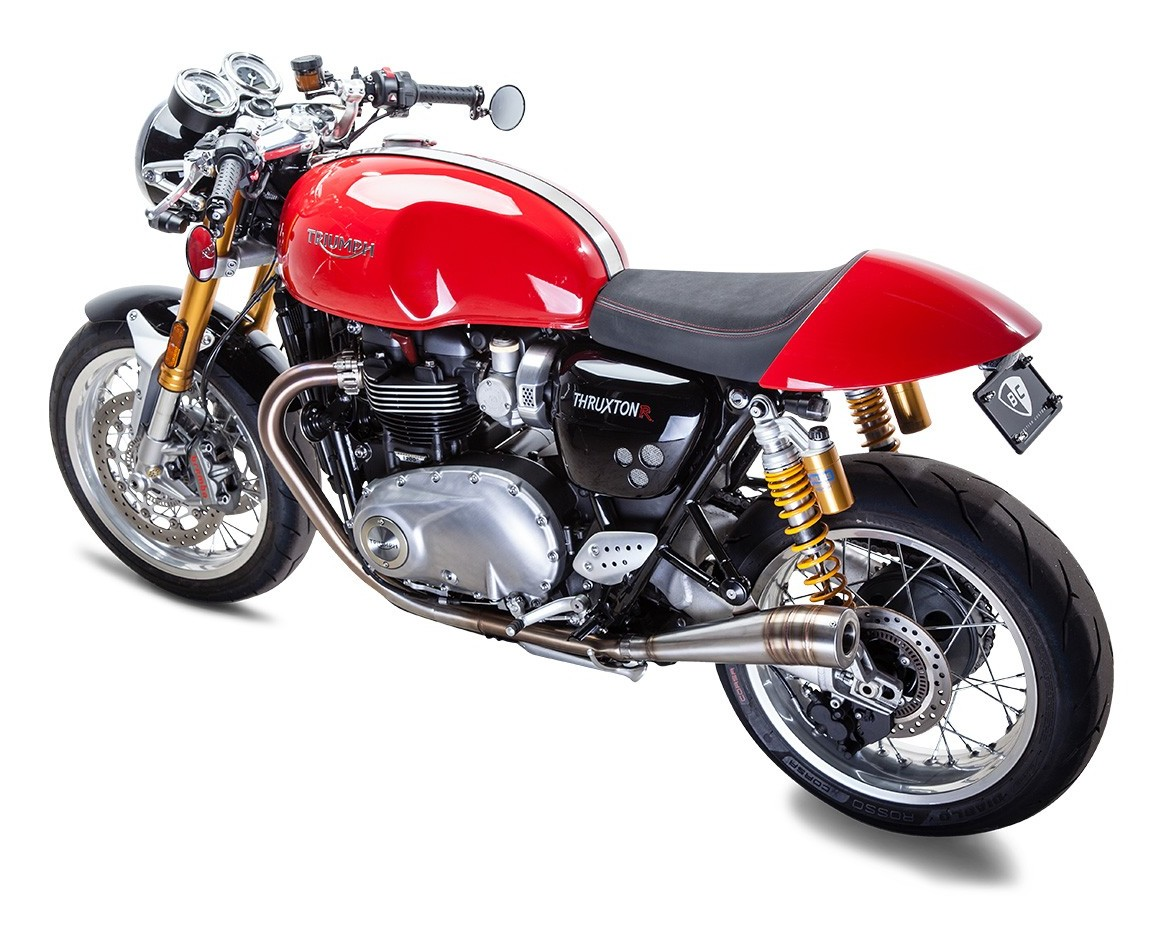 triumph thruxton 1200 r exhaust hobbiesxstyle. Black Bedroom Furniture Sets. Home Design Ideas