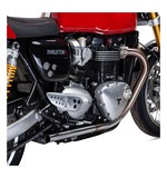 British Customs Drag Pipes Triumph Thruxton 1200 R 2016