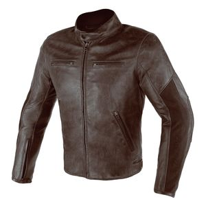 Dainese Stripes D1 Perforated Leather Jacket
