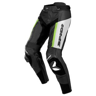 Spidi RR Pro Leather Pants - (Black/Green Only)