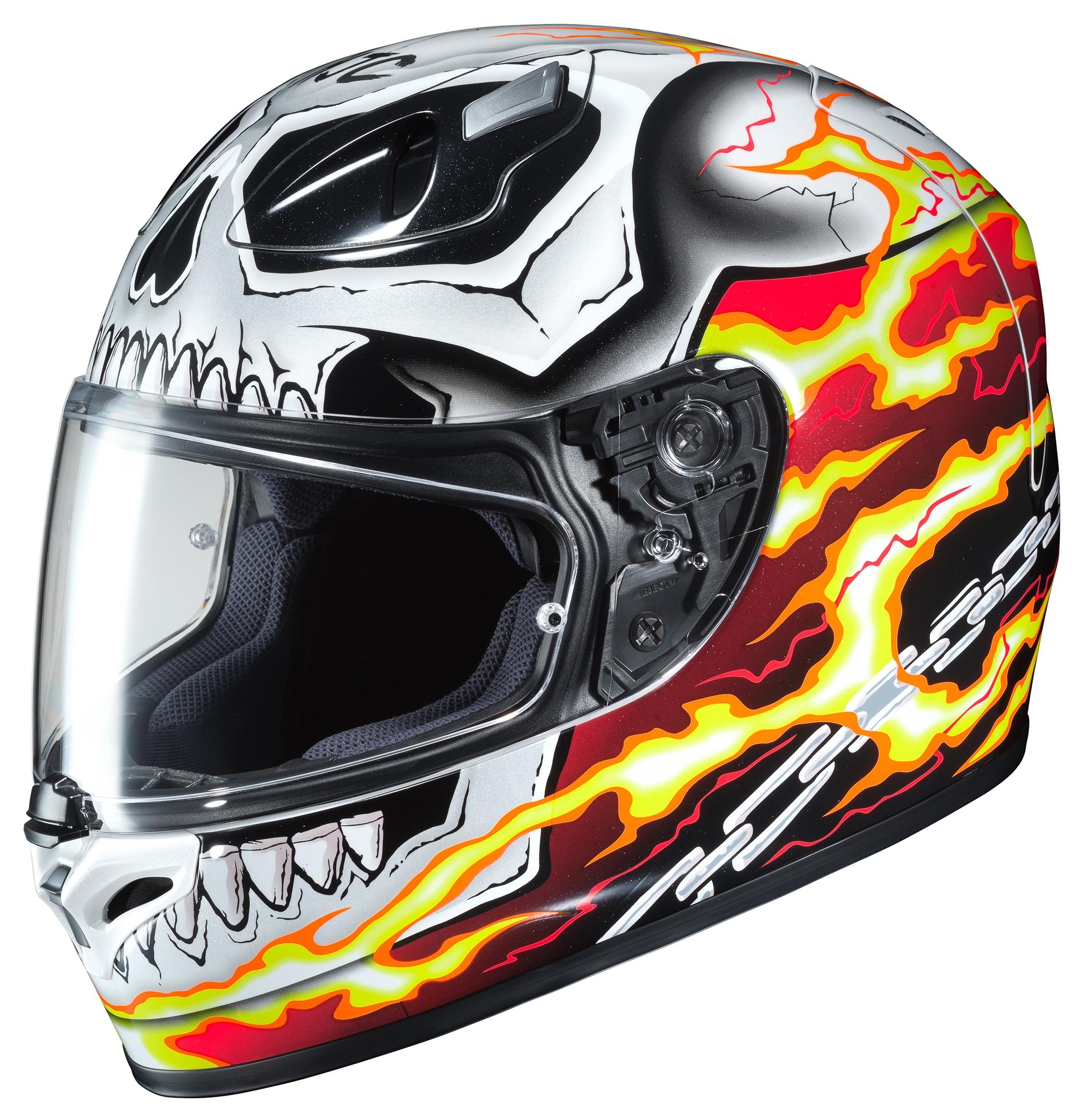 Hjc Fg 17 >> Hjc Fg 17 Ghost Rider Helmet 20 63 00 Off Revzilla