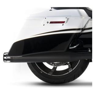 "Rinehart 4"" Merge Slip-On Mufflers For Harley Touring 2017"