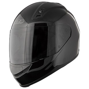 Speed and Strength SS700 Solid Speed Helmet Black / XL [Blemished - Very Good]